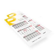 Kalendarz trójdzielny składany ekonomiczny