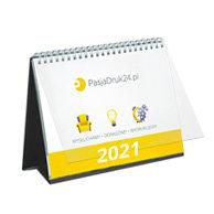 Kalendarz biurkowy premium miesięczny - 12 kart