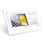 Kalendarz biurkowy w ramce
