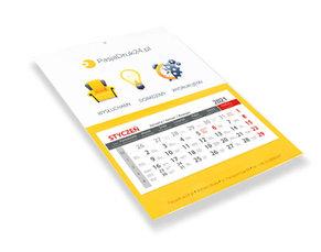 Kalendarz ścienny jednodzielny