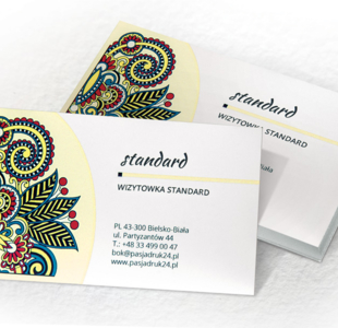 Wizytówka standard