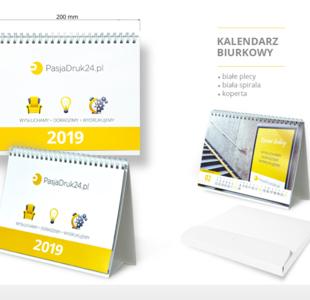 kalendarz biurkowy standard 2019