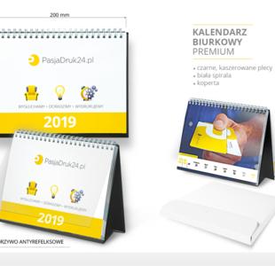 kalendarz biurkowy 2019