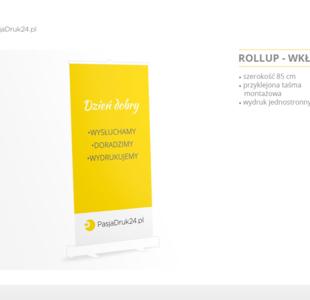 Roll up - wkład